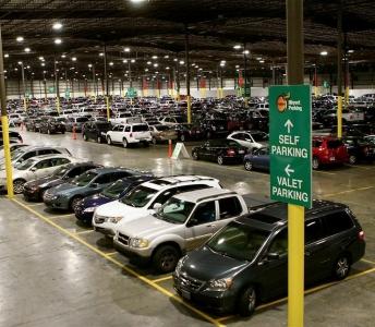Peachy Parking Airport Parking Lot